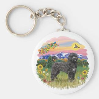 Mountain Country - Black Portie 2C Keychain