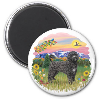 Mountain Country - Black Portie 2C Magnet
