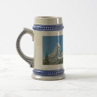 Mountain Crazy Matterhorn Beer/Stein 18 Oz Beer Stein