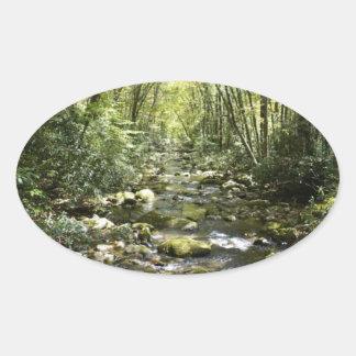 Mountain Creek Oval Sticker