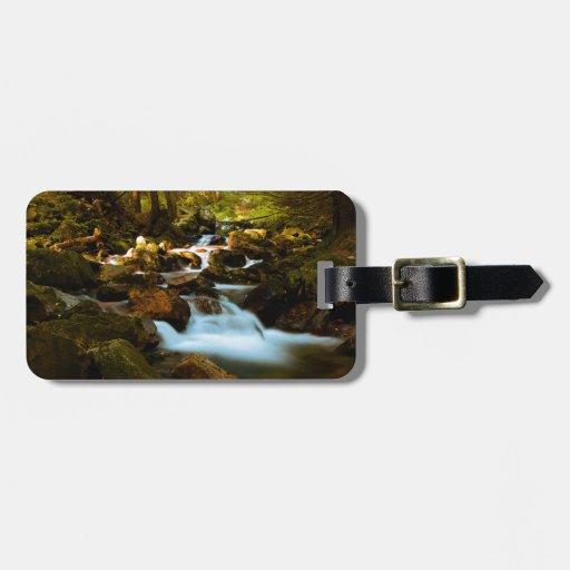 Mountain Creek Travel Bag Tag