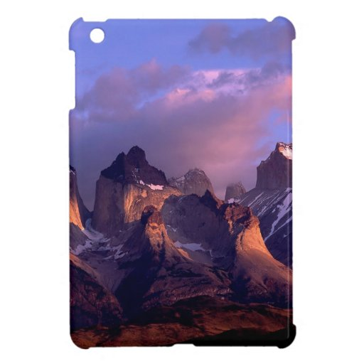 Mountain Cuernos Del Paine Andes Chile Cover For The iPad Mini