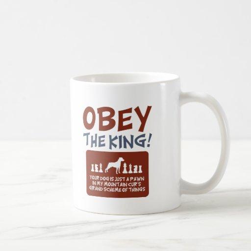 Mountain Cur Coffee Mugs
