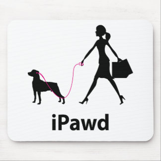 Mountain Cur Mouse Pad