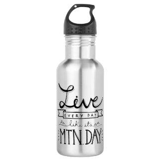 Mountain Day Water Bottle