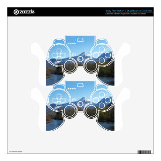 Mountain Decal For PS3 Controller