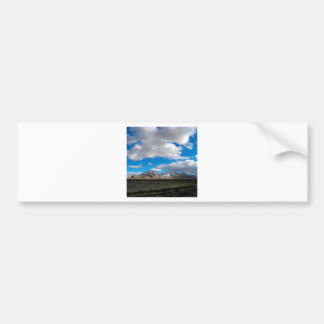 Mountain Denizen Storm Approach Car Bumper Sticker