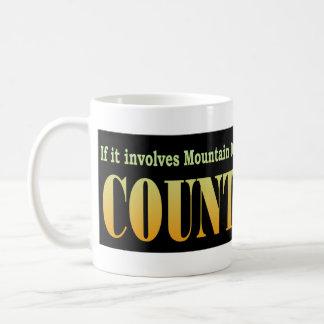 Mountain Dew, Doritos, and Bloodshed BLK Coffee Mug