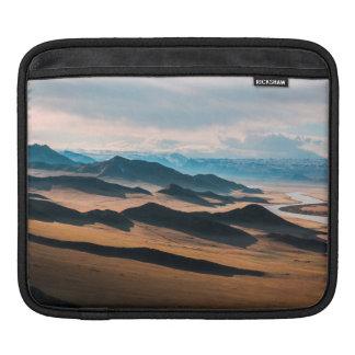 mountain dusk iPad sleeve