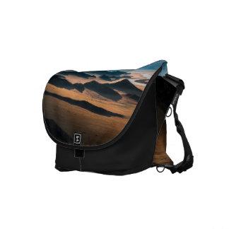 mountain dusk messenger bag