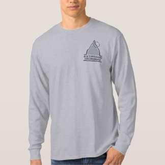 Mountain Extreme Ironing Pocket Long Sleeve Tee Shirt