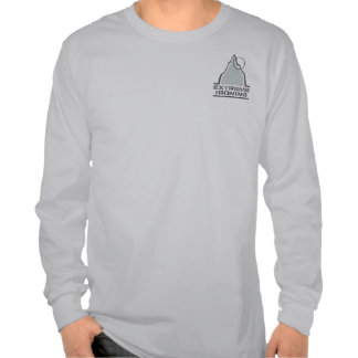 Mountain Extreme Ironing Pocket Long Sleeve T Shirt