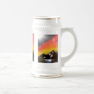 Mountain Falls Beer Stein
