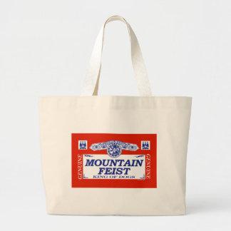 Mountain Feist Canvas Bags