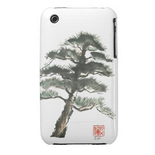 Mountain Fir iPhone 3 Cases