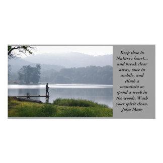 Mountain Fisherman Card