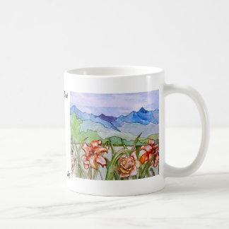 Mountain Floral - CricketDiane Art Coffee Mug