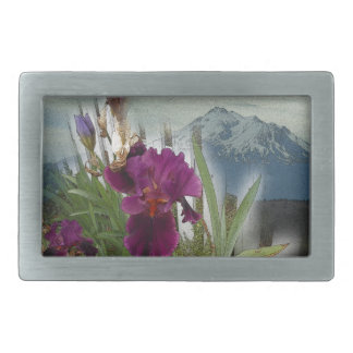Mountain Flowers Belt Buckle