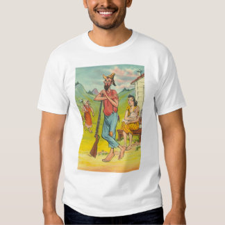 mountain folks t shirt