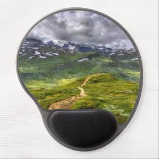Mountain footpath gel mouse pad
