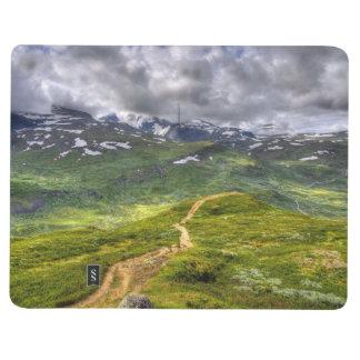 Mountain footpath journal