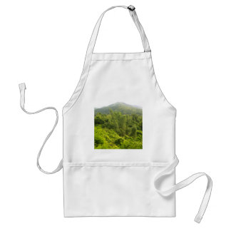 mountain   forest adult apron