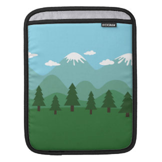 Mountain Forest Sleeve For iPads