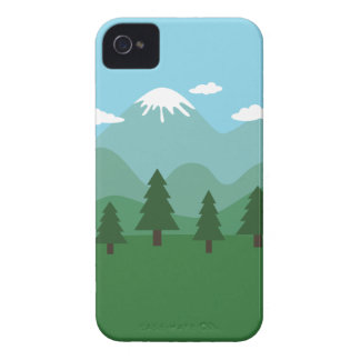 Mountain Forest iPhone 4 Cover