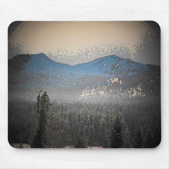 Mountain Forest Mouse Pad
