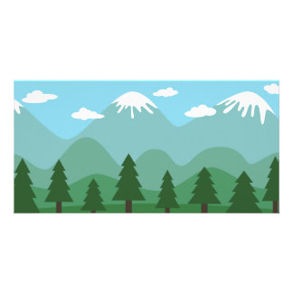 Mountain Forest Photo Cards