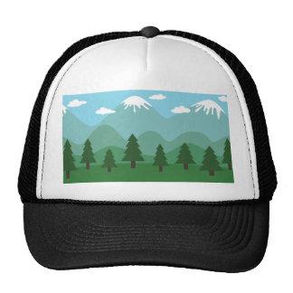 Mountain Forest Trucker Hat
