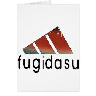 Mountain fugi card
