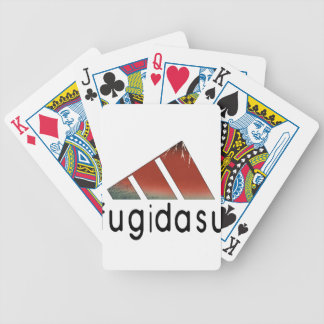 Mountain fugi deck of cards