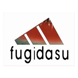 Mountain fugi post cards