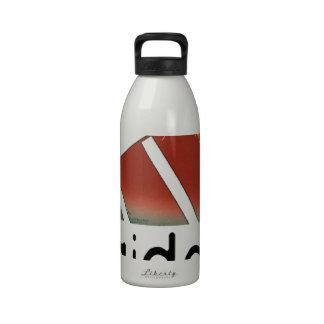 Mountain fugi reusable water bottle