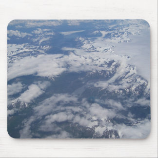 Mountain Glaciers in Alaska Mouse Pad