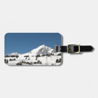 Mountain glory luggage tags