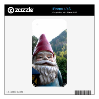 Mountain Gnome iPhone 4S Decals