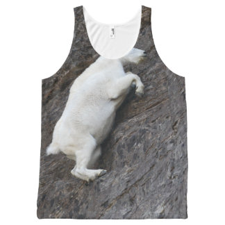 Mountain Goat All-Over Print Tank Top
