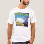 Mountain Goat Apples Vintage Crate Label T-Shirt