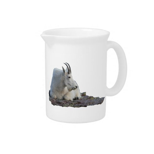 mountain goat beverage pitcher