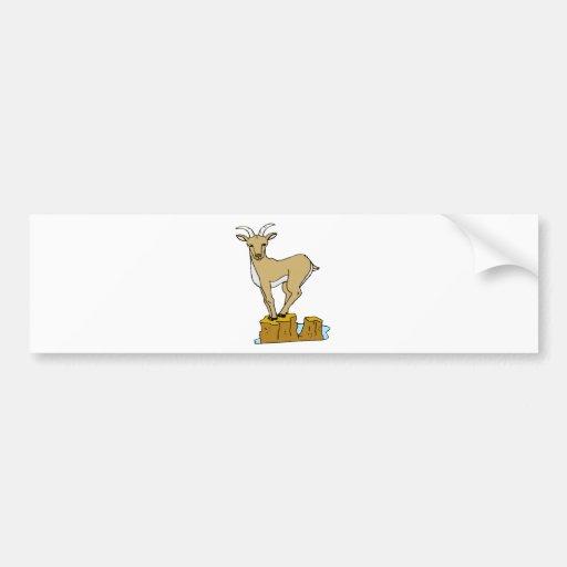 Mountain Goat Bumper Sticker