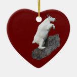 mountain goat christmas ornaments
