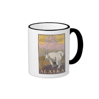 Mountain Goat - Chugach National Forest, Ringer Mug