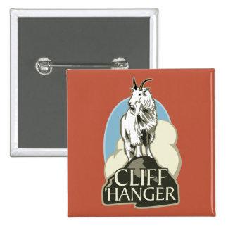 Mountain Goat Cliffhanger Pin
