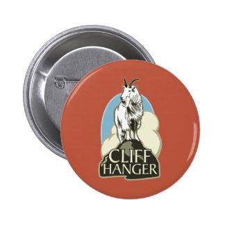 Mountain Goat Cliffhanger Button