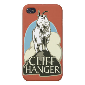 Mountain Goat Cliffhanger Case For iPhone 4