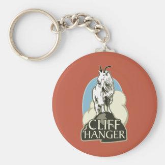 Mountain Goat Cliffhanger Key Chains