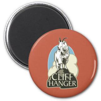 Mountain Goat Cliffhanger Fridge Magnet