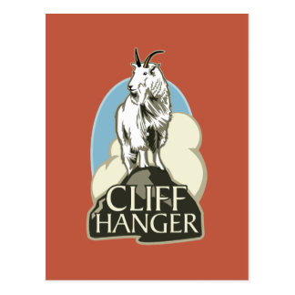 Mountain Goat Cliffhanger Post Cards